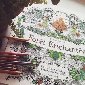 coloriage_zen_créatif_forêt-enchantée